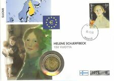 Berühmte Persönlichkeit Stempelglanz Münzen aus Finnland