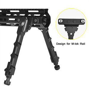 Hunting Tactical Fit For M-LOK Rifle Bipod Adjustable 6.5-9 Inches