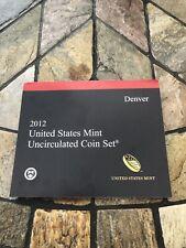 More details for 2012 denver us mint uncirculated coin set