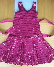 Lovely girls monsoon sequin party occasion dress/outfit age 3,4,5
