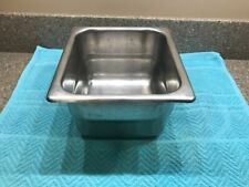 Seco-Ware St Louis Stainless Steel Buffet Steam Pan Holds 2 Quarts No. 624