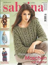 sabrina Strickjournal,  August 2012,  Heft 08/2012,  unbenützt