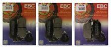 KAWASAKI Z750 2007-2011 Set EBC Pastillas de freno traseras y Delanteras