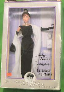 Vintage Mattel Doll AUDREY HEPBURN in Breakfast at Tiffany's 1998 Beautiful Doll
