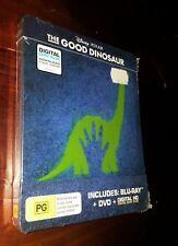 The Good Dinosaur Disney Pixar Blu Ray DVD Digital Copy Steelbook
