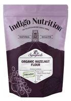 Indigo Herbs Organic Hazelnut Flour 500g - 1kg Milled Meal Raw