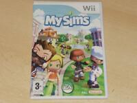MySims Nintendo Wii UK PAL My Sims **FREE UK POSTAGE**