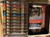 INSPECTOR MORSE Rare 25th Anniversary Collector's Edition 36 DVD Complete Series