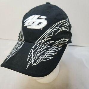Harley-Davidson Women's Embroidered Silver Baseball Cap Black Adjustable Back