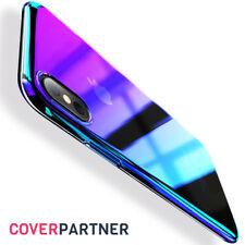 Apple iPhone X Gradient Case Farbwechsel Hülle Transparent Schutz Cover
