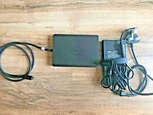 Dell WD15 USB C - Docking Station K17A001,4K Resolu-include 130W Power Adapter