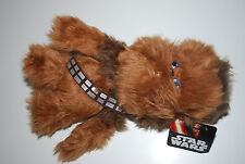 "Star Wars Walt Disney Chewbacca Plush Toy Doll 11"" Chewy NWT HTF Collectible"