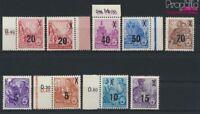 DDR 435-442 (kompl.Ausg.) mit 439b postfrisch 1954 Fünfjahresplan (II (9187995
