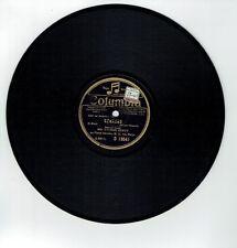 78T Yvonne CURTY Violon Vinyle Phonographe MADRIGALE - CZARDAS -COLUMBIA D 19041