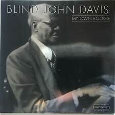 BLIND JOHN DAVIS My Own Boogie Past Perfect Sliver Line 2000 Ex+ Jazz LP