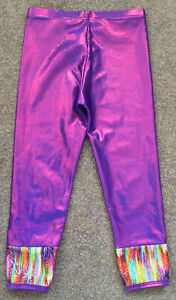 Gorgeous Girls Tappers & Pointers Gymnastics Leggings Size 28 Age 7/8
