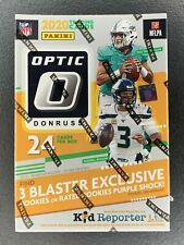 New 2020 Panini NFL Donruss Optic Football Blaster Box, Hanger, Cello Pack, Mega