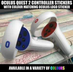 Custom Colour Vinyl Sticker Compatible with Oculus Quest 2 Controllers