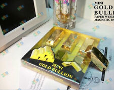 Hot sale 6 BIron absorption brick Ingot Gold Bar Replica Props decoration Movie