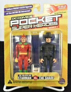 DC Comics Pocket Super Heroes Starman vs. The Shade Series 1 2002