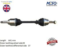 DRIVESHAFT FITS FOR PEUGEOT 308 II 1.6 BlueHDi 120  2013 ONWARD FRONT AXLE LEFT