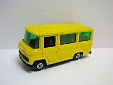 Guisval MERCEDES T2 406D VAN 1980 Made in Spain. Yellow