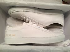 NEW WITH BOX COMMON PROJECTS ACHILLES ORIGINAL LOW CANVAS SNEAKERS 40 7
