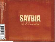 SAYBIA - I surrender CD SINGLE 4TR Enhanced 2004 Denmark