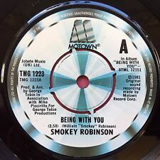Smokey Robinson - Being With You / What's In Your Life For Me - TMG-1223 VG
