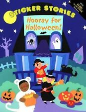 Sticker Stories: Hooray for Halloween! by Winky Adam (2000, Paperback)
