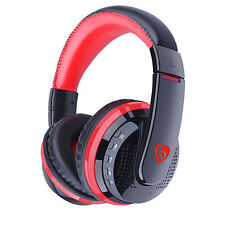 Bluetooth Headphones Over Ear Stereo Wireless Headset Foldable for PC Phones TV