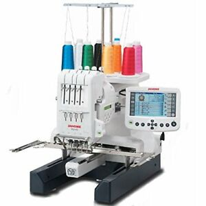 Janome MB4 S MB 4S MB4S 4 Needle Embroidery Machine with Bonus Bundle