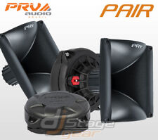 "PAIR PRV Audio D250Ph-S 1"" Phenolic Compression Driver WG17-25 Horn Combo D250"