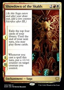 MTG Kaldheim NON-FOIL R Showdown of the Skalds #229