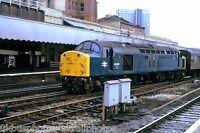 British Rail Class 40 40 099 Manchester Victoria 08/10/82 Rail Photo B