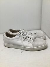 Men's VANS OTW All White Leather Shoes Sneakers Size 11.5