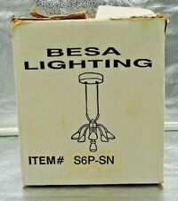 Besa Lighting Chandelier 6 Lights Ceiling Kitchen Living room DM25