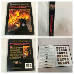AD&D Player's Option: Spells & Magic Advanced Dungeons & Dragons Book TSR #2163