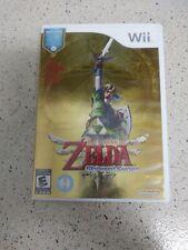 The Legend of Zelda: Skyward Sword (Nintendo Wii, 2011) read description.