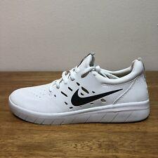 d209e24903fa Nike SB Nyjah Free Huston White Black Skateboarding AA4272-100 Size  7.5 WMNS 9