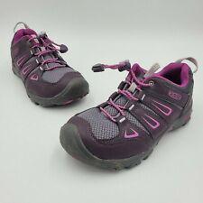Keen Oakridge 1015193 Mid Waterproof Hiking Shoes Berry Purple Youth Kids Size 2