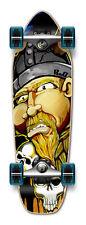 NEW VIKING Graphic Complete Longboard Mini Cruiser / Banana Cruiser skateboard