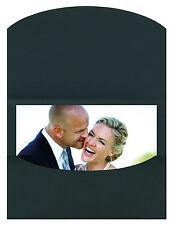 Schutzumschläge / Bildmappen / Fotomappen Schoeller&Stanzwerk  50 Stück 13x18 sw