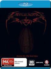 Metalocalypse Season 3 NEW B Region Blu Ray