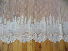 HERITAGE LACE IVORY PINERIDGE CURTAIN TIER NICE 63WX30L ITEM 6003