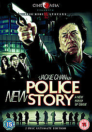 'New Police Story' DVD 2-Disc Set Jackie Chan