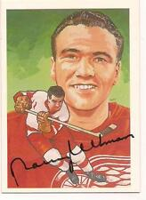 1987 Hockey Hall of Fame  Auto HOF Norm Ullman Detroit Red Wings