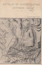 A001) BRIGATA TOSCANA, 1910, CAMPO IN VALLE VRATA ( VARAITA, CUNEO). VIAGGIATA.