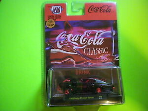 """M2 Machines CHASE """"1966 DODGE CHARGER GASSER"""" CoCa-CoCa 1/750 Nice"""