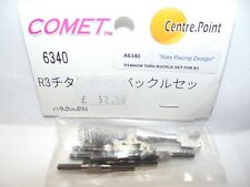 Comet 6340 Titanium Turn Buckle Set Alex Racing Design